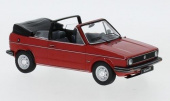 VW Golf I Convertible 1981 Red