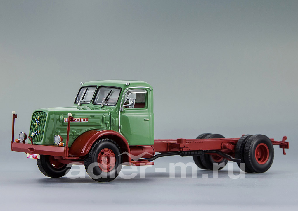 Henschel HS 140 Chassis 1954 Green / Red