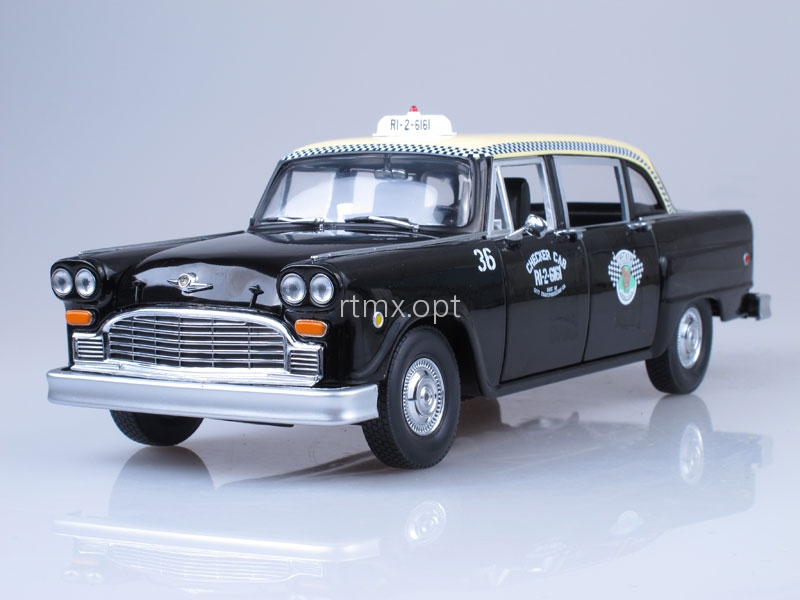 Checker A11 Cab Taxi 1963 Black