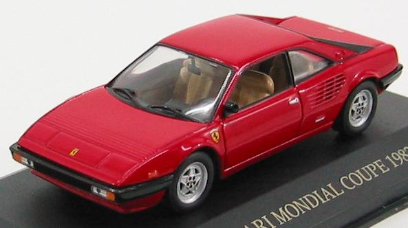 Ferrari Mondial Coupe 1982 Red
