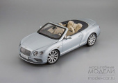 Bentley Continental GT Convertible 2016 (silver frost)