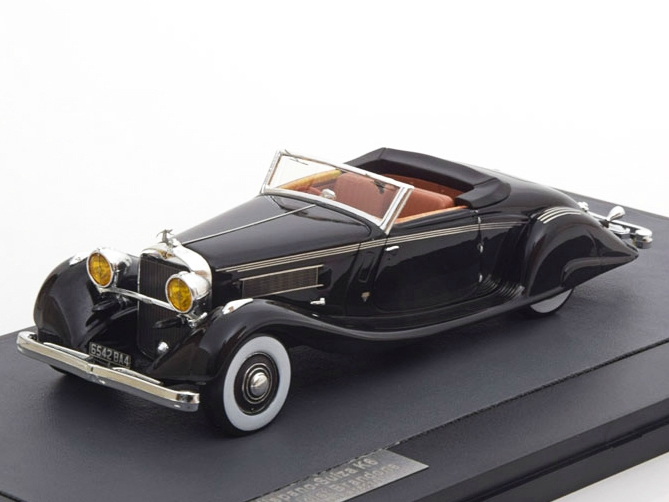Hispano Suiza K6 Cabriolet Brandone Chassis #16035 1935 Black