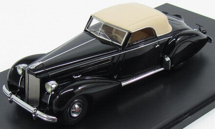 Packard 1601 Eight 120 Graber Convertible 1938 Black