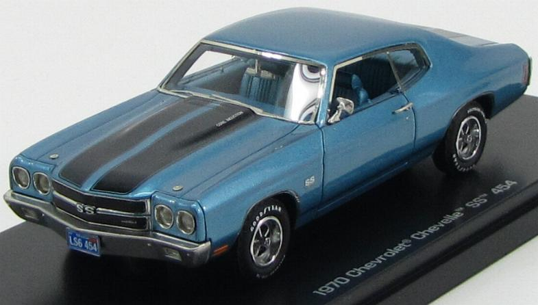 Chevrolet Chevy Chevelle 454SS Coupe 1970 Blue Metallic Black