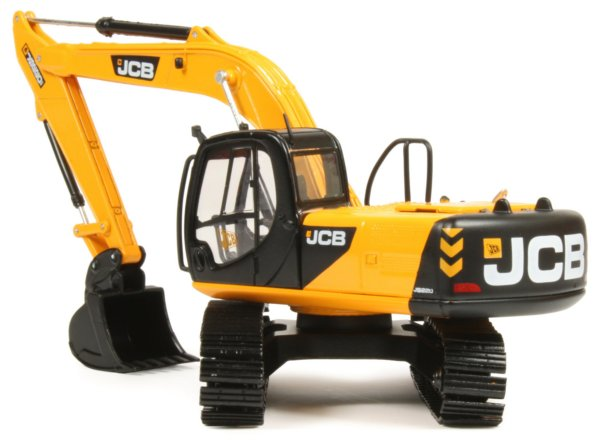 JCB JS220 Tracked Excavator (with bucket)