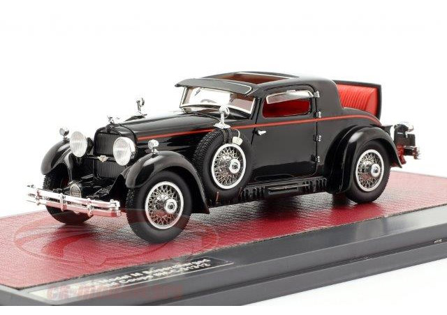 STUTZ M SuperCharged Lancefield Coupe (открытый) 1930 Black