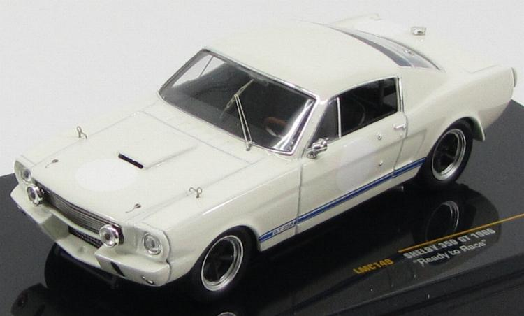"Shelby Mustang 350GT ""Ready to Race"" 1966 White"