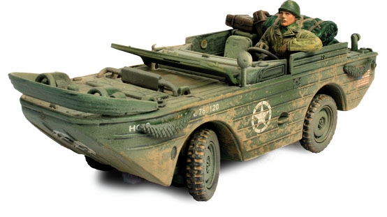 U.S. Amphibian General Purpose Vehicle (GP), Normandy, 1944