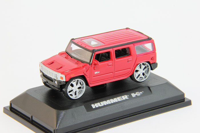 Hummer H2, red (box)