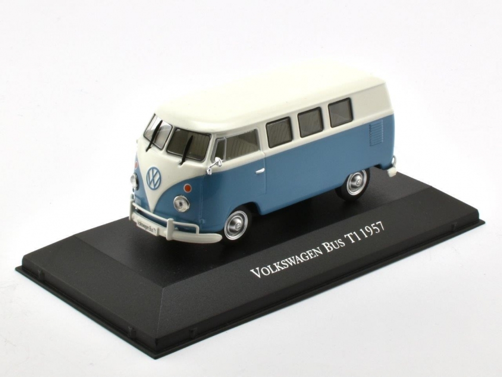 VOLKSWAGEN T1 Bus 1957 Blue/White