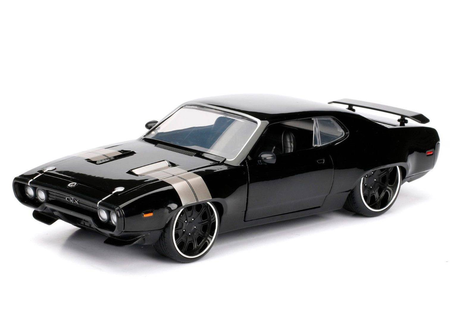"Plymouth GTX owned by Dom (black) (из к/ф ""Форсаж"")"