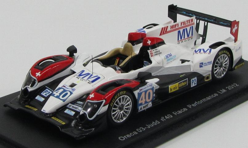 Oreca 03-Judd # 40 Race Performance LM 2012