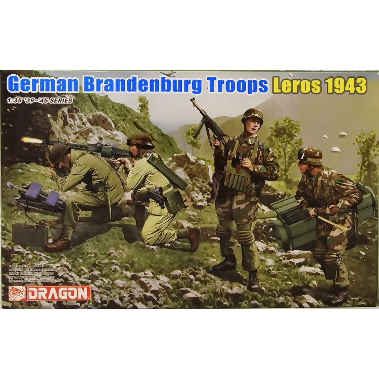 German Brandenburg Troops Leros 1943