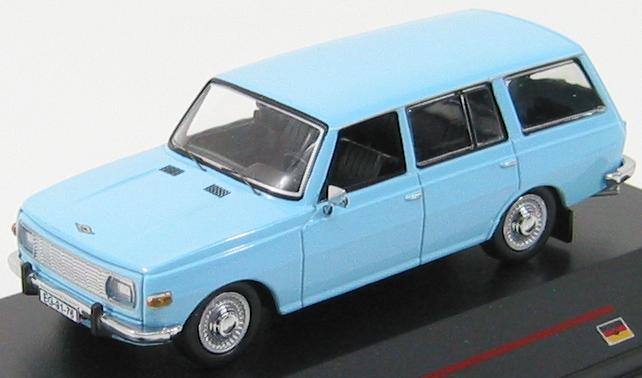 Wartburg 353 Kombi 1972 (old grill) Light blue