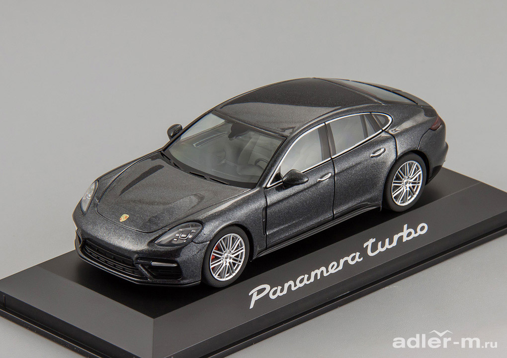 Porsche Panamera Turbo 2016 (grey)