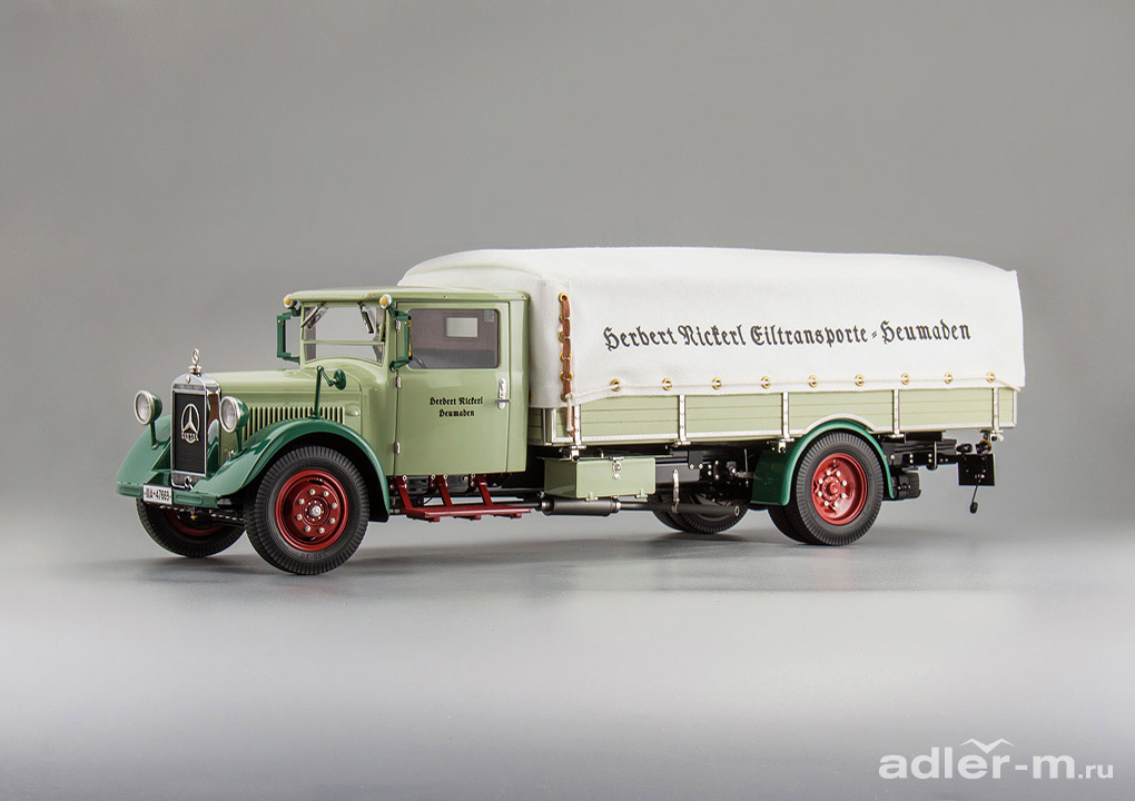 Mercedes-Benz LKW LO 2750 Truck with tarpaulin, 1933-1936