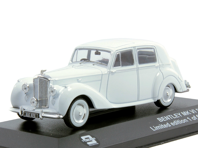 Bentley MK VI 1950 white