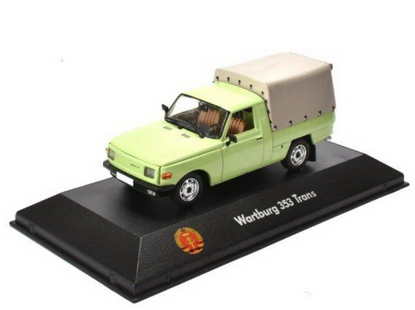 WARTBURG 353 Pick-up 1977 Light Green