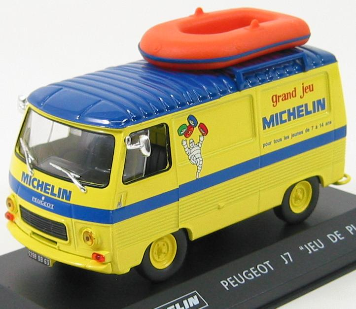"Peugeot J7 Van ""Michelin"" With Boat"