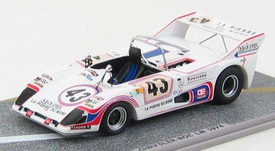 Lola T292 Simca - Chrysler - ROC #43 LM 1974
