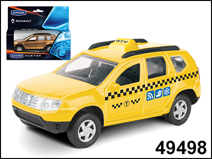 RENAULT DUSTER такси 1:38