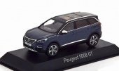 PEUGEOT 5008 GT 2016 Bourrasque Blue