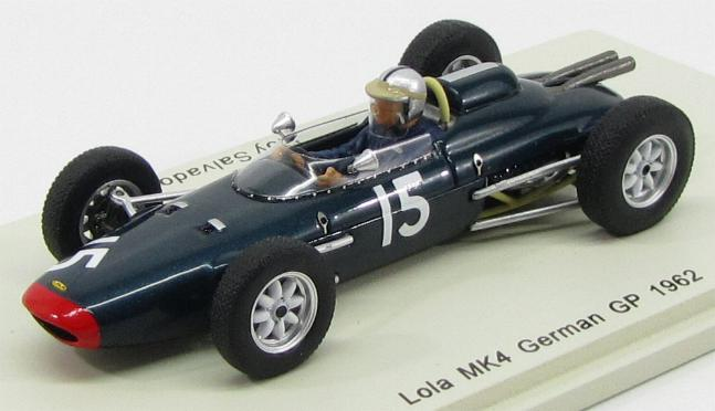 Lola MK4 #15 German GP 1962 Roy Salvadori