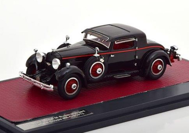 STUTZ M SuperCharged Lancefield Coupe 1930 Black