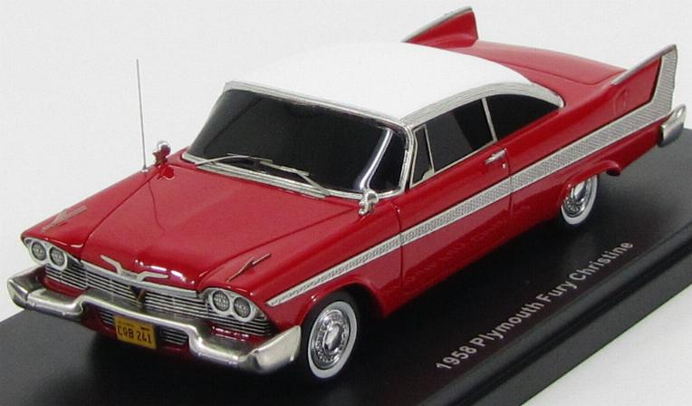 "Plymouth Fury 2-Door 1958 Red (из к/ф ""Кристина"")"