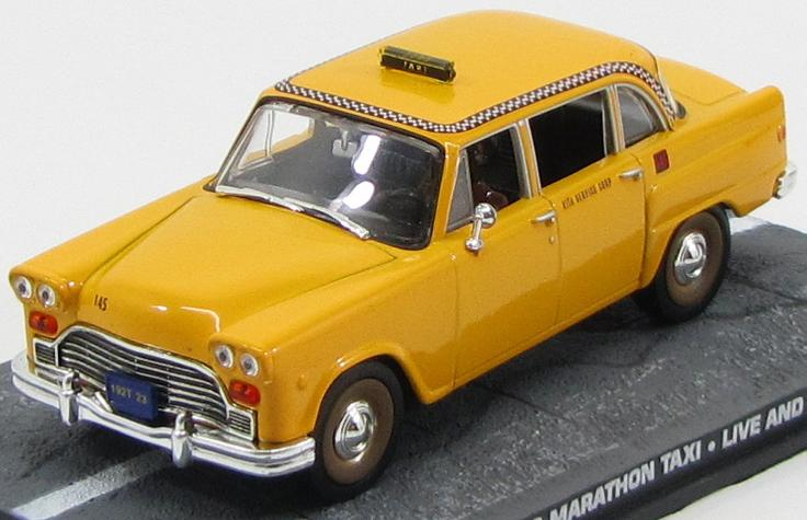 "CHECKER Marathon Taxi ""Live and Let Die"" 1973"