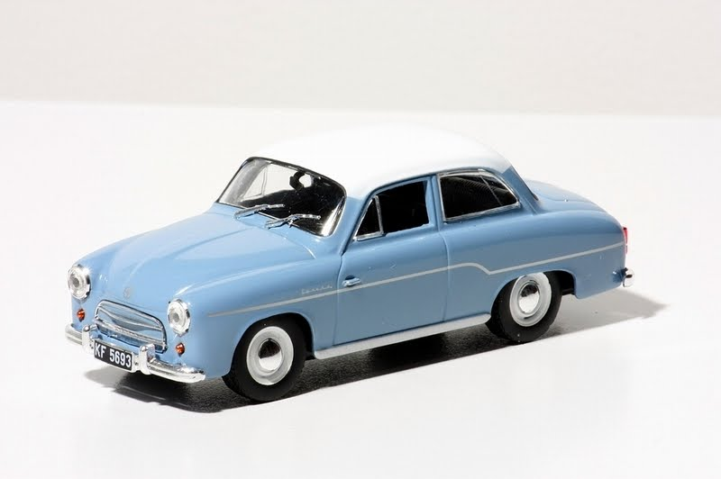 FSO Syrena 102 1957 Blue/White