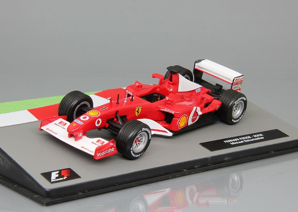 Ferrari F2002 Michael Schumacher (2002), Formula 1 Auto Collection