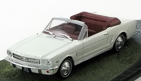 "FORD Mustang Convertible ""Goldfinger"" 1964 White"