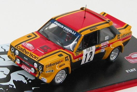 Fiat 131 Abarth Rally Montecarlo 1980