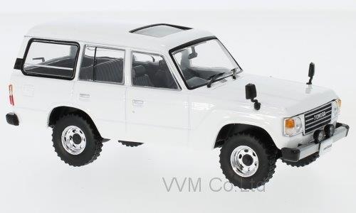 TOYOTA LAND CRUISER (LC60) 4х4 1982 White