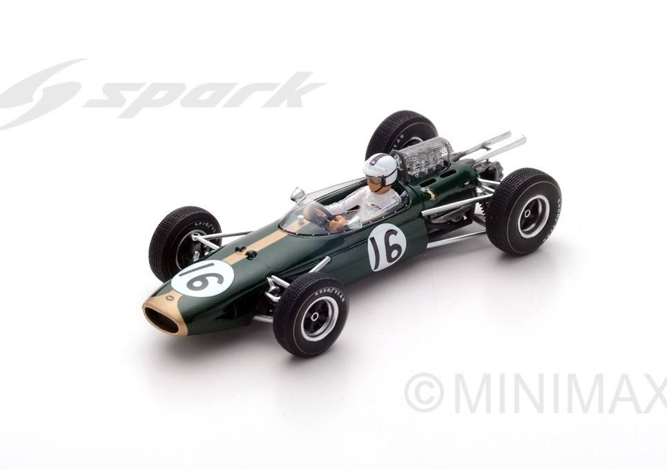 Brabham BT11 #16 French GP 1965 Denny Hulme