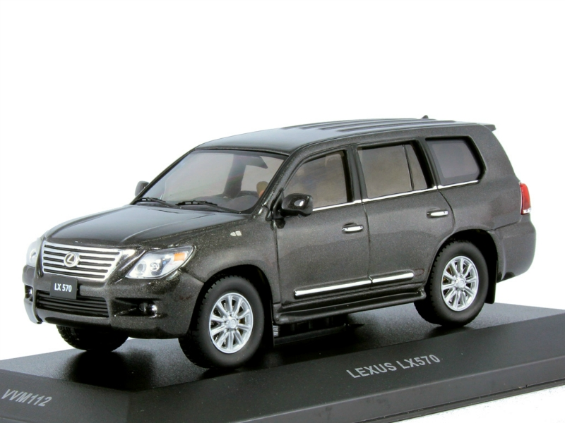 Lexus LX570 2010 (тираж 393 шт.) Metallic Gun Grey