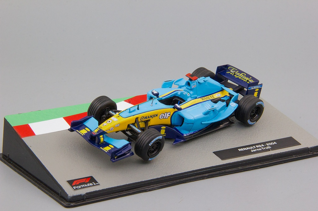 RENAULT R24 Ярно Трулли (2004), Formula 1 Auto Collection 17