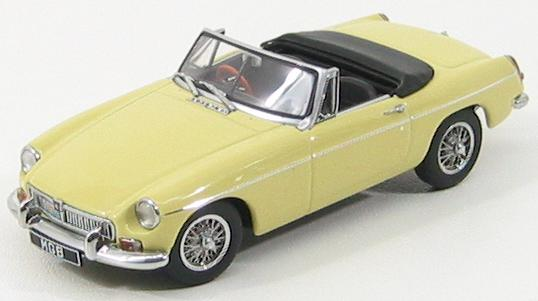 MG B Roadster MkII 1969 Yellow