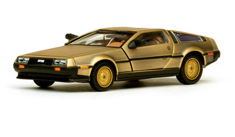 DeLorean DMC-12 Coupe Stainless Steel Gold Edition