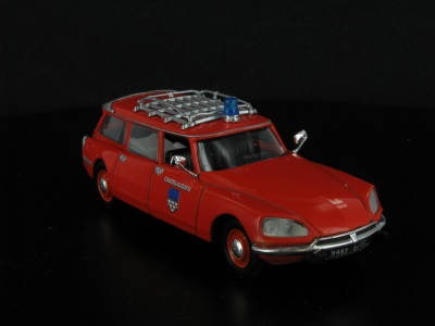 Citroen ID 19 Break Ambulance de Pompiers -1975-