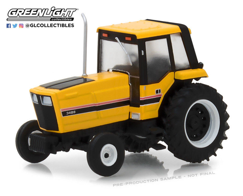 трактор International Harvester 3488 Enclosed Cab 1983 Yellow/Black with Enclosed Cab