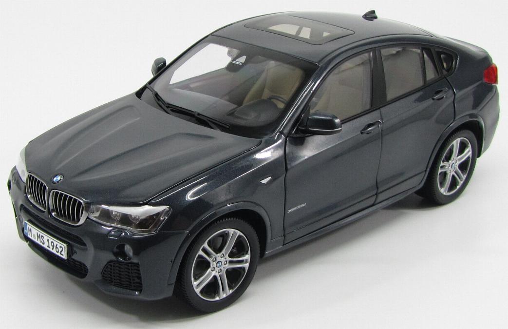 BMW X4 (F26) 2015 Dark Grey