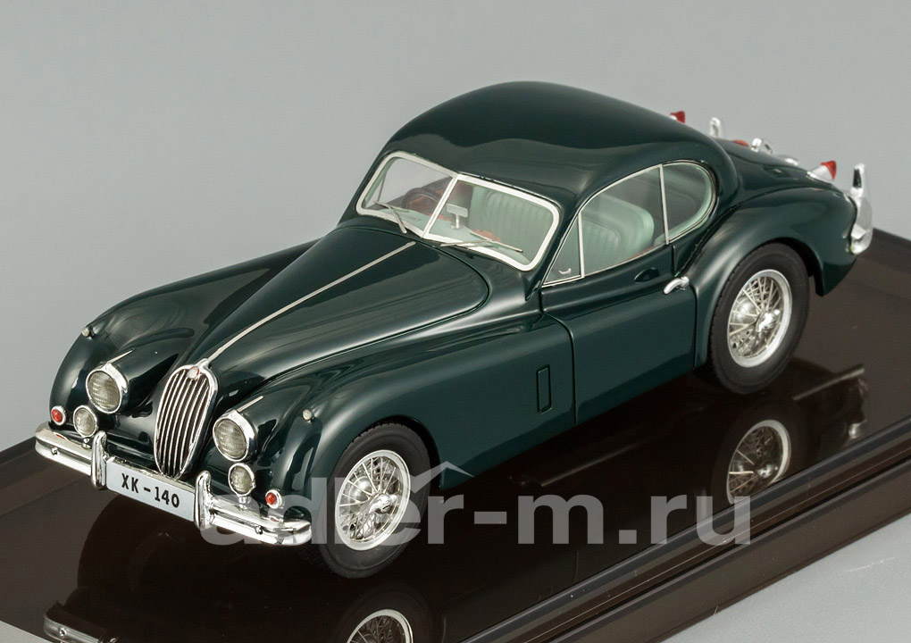 Jaguar XK140 Fixed Head Coupe (british racing green)