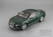 Bentley Continental GT Coupe 2016 (verdant)