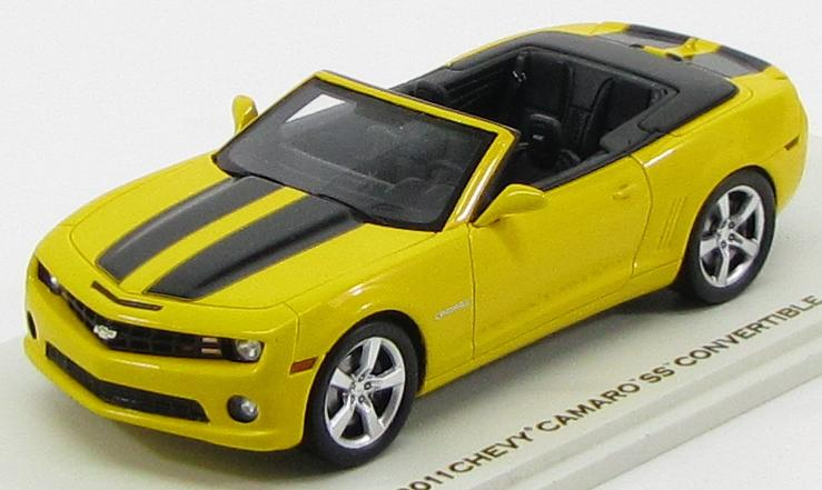 Chevrolet Camaro SS Convertible 2011 (Rally Yellow with Black)