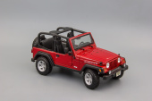 Jeep Wrangler Rubicon (red)