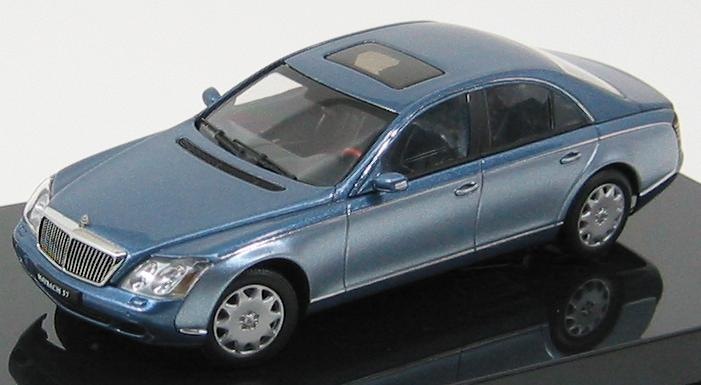 Maybach 57 SWB 2003 (Cote de Azur Blue Middle / Cote de Azur Blue Bright)