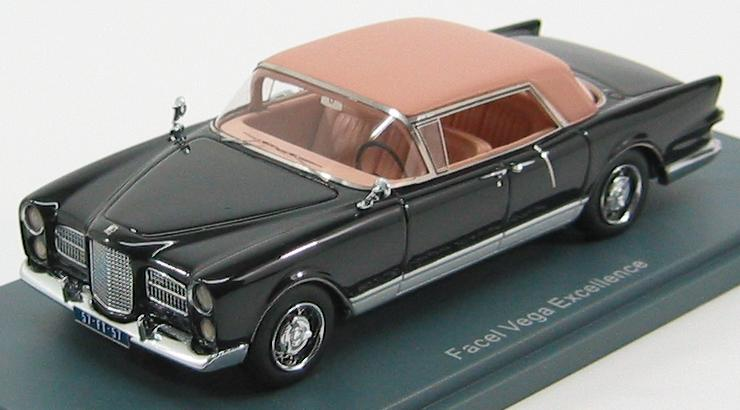 Facel-Vega Excellence 1958 Black / Beige