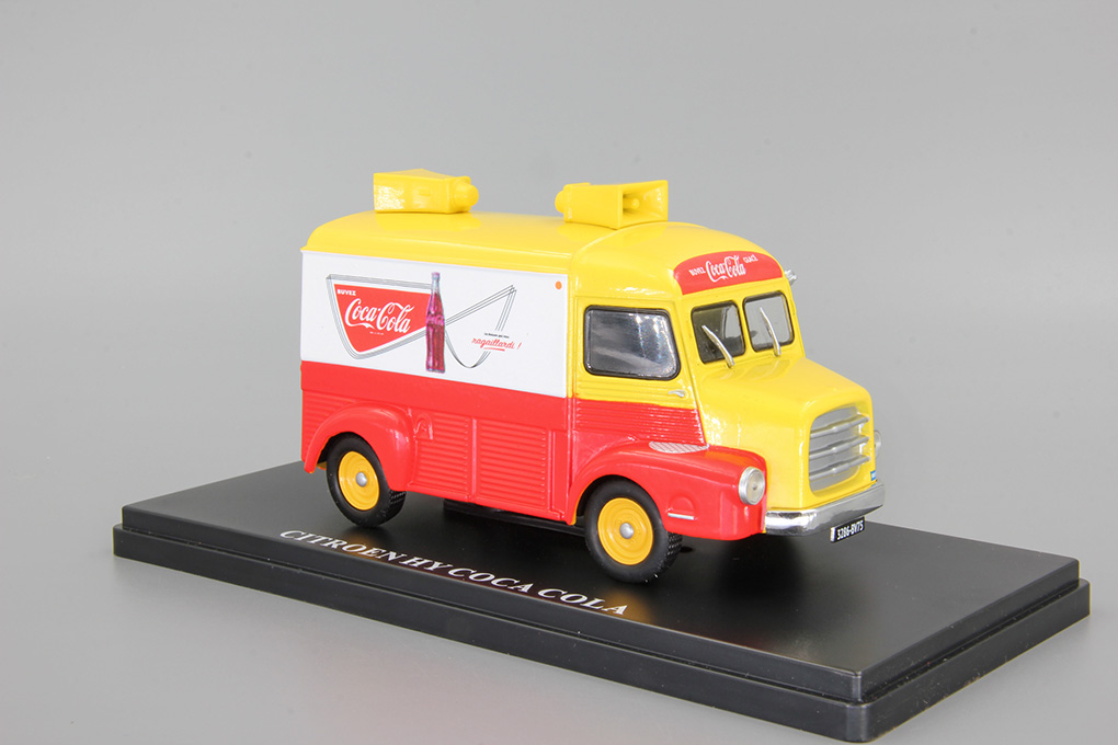 Citroen type HY Coca Cola